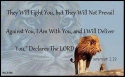 They You, but They Will Not Prevail 