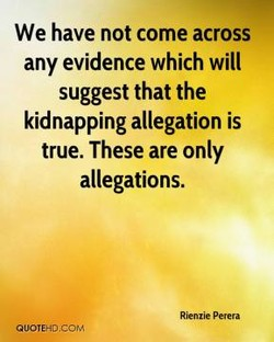 We have not come across 