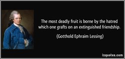 The most deadly fruit is borne by the hatred 