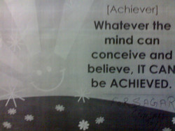(Achiever) 