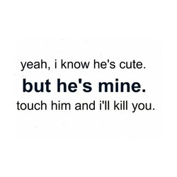yeah, i know he's cute. 
