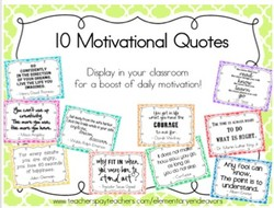10 Motivational Quotes 