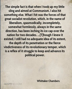 The simple fact is that when I took up my little 