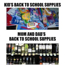 KID'S BACK TO SCHOOL SUPPLIES 
