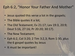 398e95cb0a3bf635c73f69af9855cfd5 - Honor Your Parents - Bible Study
