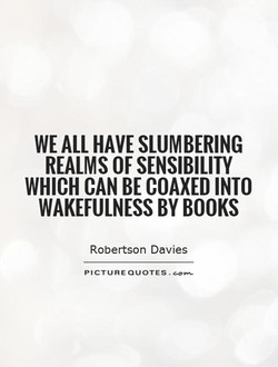 WE ALL HAVE SLUMBERING 