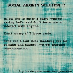 SOC\AL ANXIETY SOLUttON 