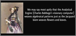 We may say most aptly that the Analytical 
