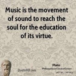 Music is the movement 