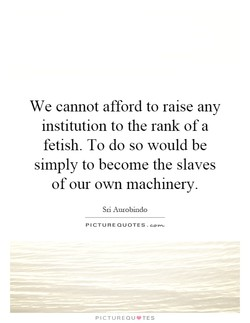 We cannot afford to raise any 