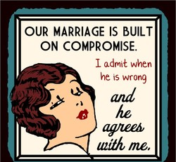 OUR MARRIAGE IS BUILT 