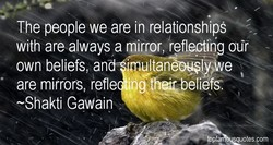 The people we are in relationshipS 