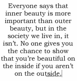 Everyone says that 