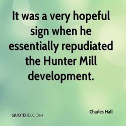 It was a very hopeful 