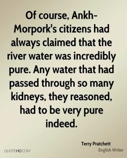 Of course, Ankh- 