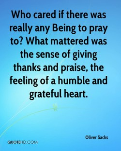 Who cared if there was 
