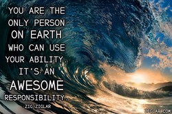 YOU' ARE THE 