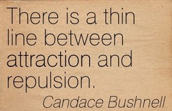 There is a thin 