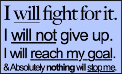 I Mill fight for it. 