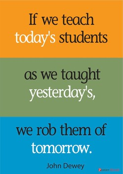 If we teach 