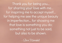 Thank you for being you... 