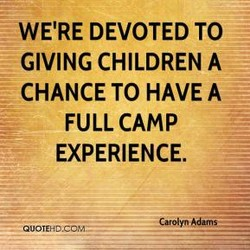 WE'RE DEVOTED TO 