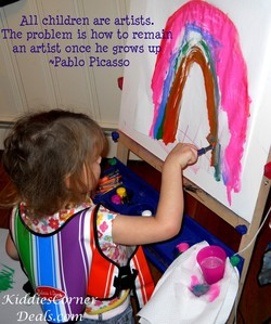 All children are artists. 