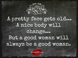 A pretty face gets oldeee 