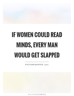 IF WOMEN COULD READ 