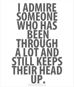 I ADMIRE 