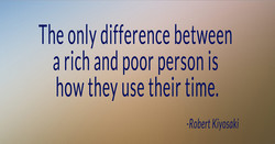 The only difference between 
