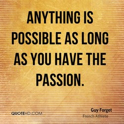 ANYTHING IS 