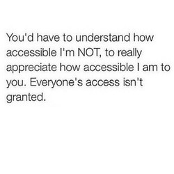 You'd have to understand how 