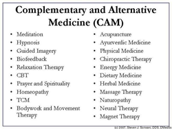 Complementary and Alternative 