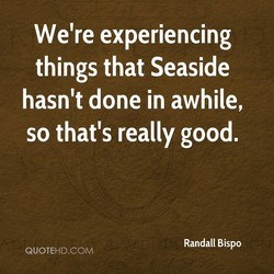 We're experiencing 