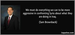 We must do everything we can to be more 