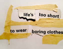 life's • too short 