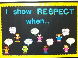 I show RESPECT 