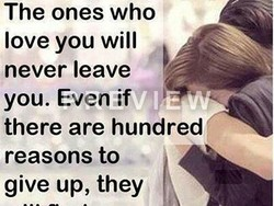 The ones who 