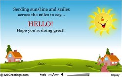 Sending sunshine and smiles 