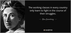 The working classes in every country 