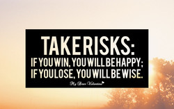 TAKERISKS: 