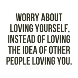 WORRY ABOUT 