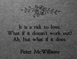 It' is a rÉk to love.' 