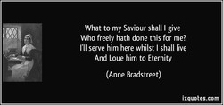 What to my Saviour shall I give 