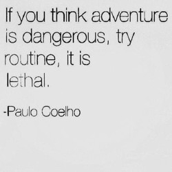 If you think adventure 