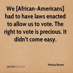 We (African-Americans) 