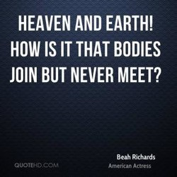 HEAVEN AND EARTH! 