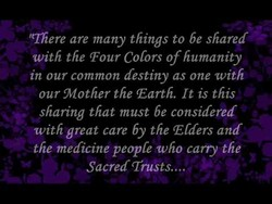 'There are many things to be shared 