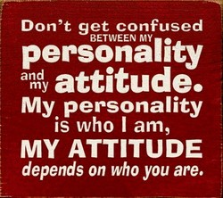 Don't get confused 